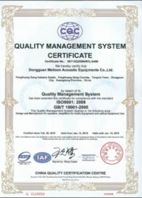 ISO 9001 : 2008 By CQC